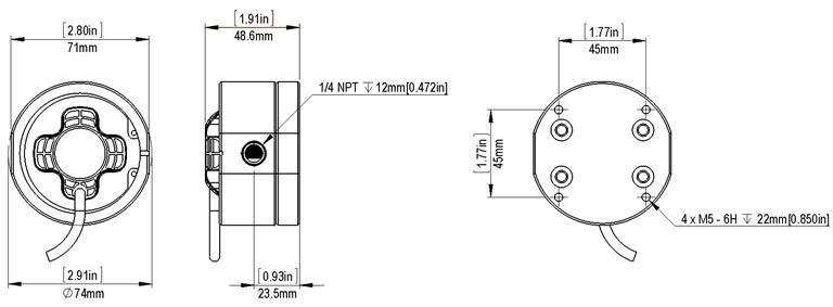 Installation Instructions: M1AR, M2AR Fuel Flow Sensors