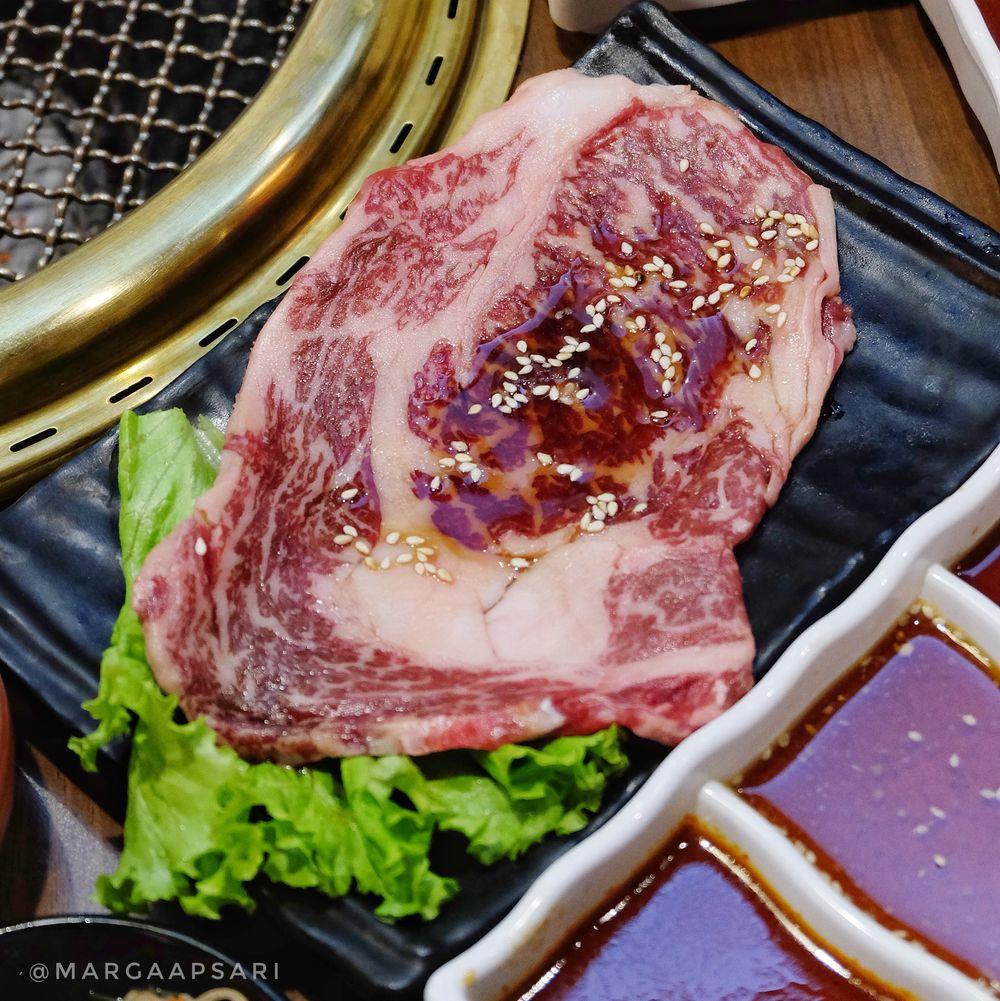 Wagyu Beef di Kintan Buffet Halal