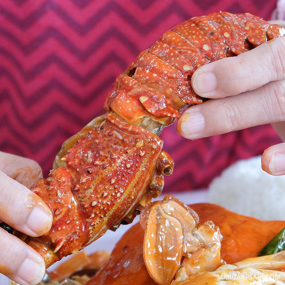 Lobster di menu Djajan Rame-rame