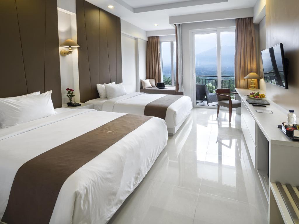 Kamar di R Hotel Rancamaya