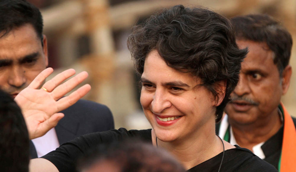 प्रियङ्का गान्धी पनि राजनीतिमा, बनिन् कांग्रेस महासचिव