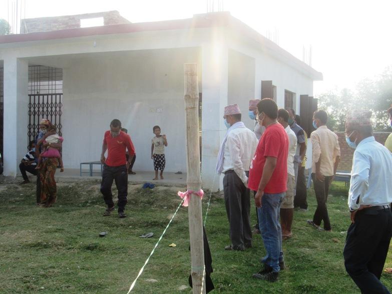नेपाली कांग्रेसद्धारा क्वारेन्टाइन अनुगमन तिव्र