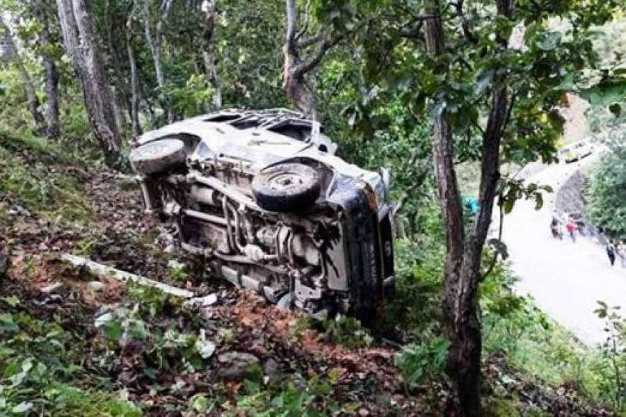 बैतडीमा जिप दुर्घटना  ५ जनाको मृत्युु