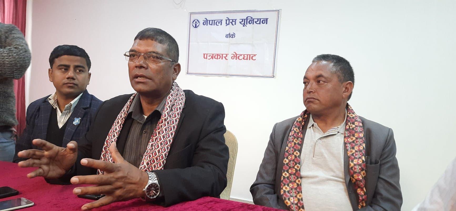 मुलुकलाई सही दिशामा अगाडी बढाउनका लागि सत्ताको नेतृत्व गर्न पछाडी नहट्ने नेपाली कांग्रेसका केन्द्रीय सदस्य जीवनबहादुर शाही