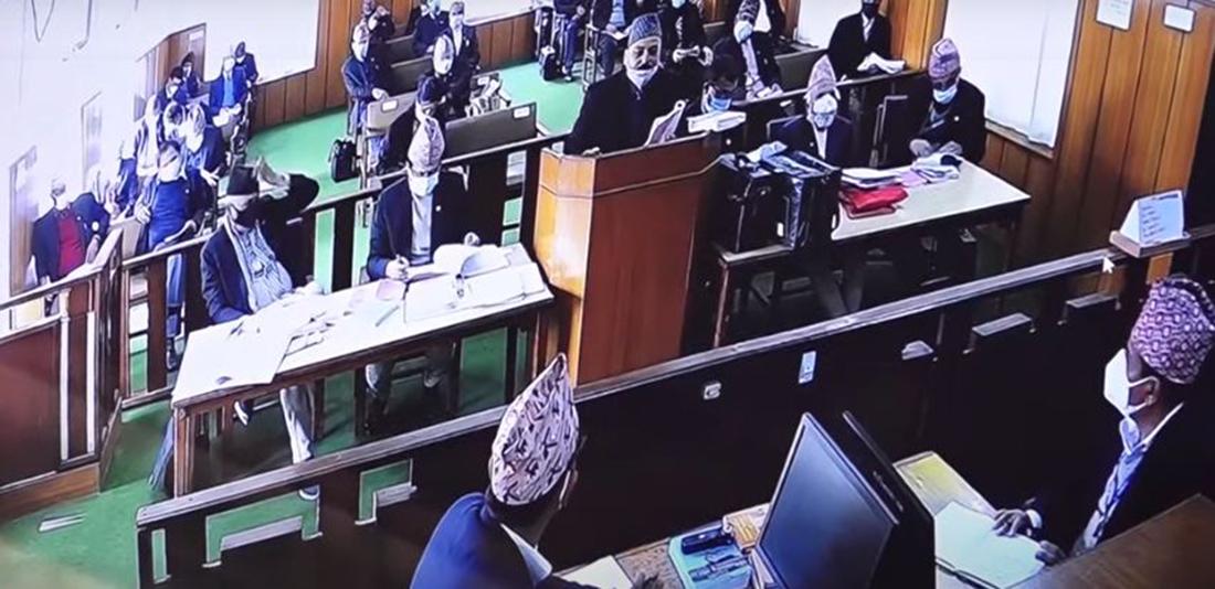 प्रतिनिधिसभा विघटन मुद्दामा 'एमिकस क्युरी'को बहस    संसद विघटन खारेज हुनुपर्छ