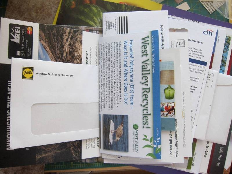 Experimenting with junk mail