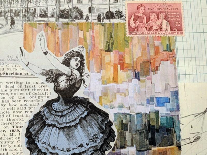 Getting started with collage art