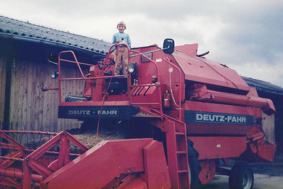 1985 Getreide- und Heuernte