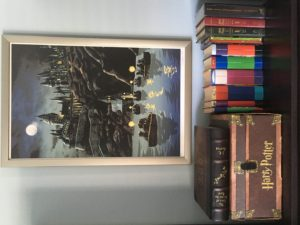 My Harry Potter shrine