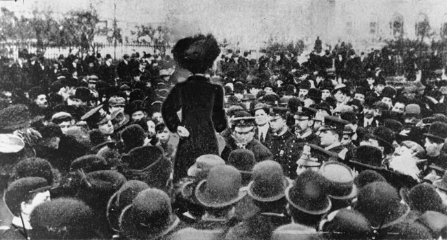 Suffrage History: The Triangle Shirtwaist Strike and Fire