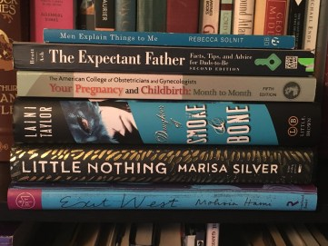 Collection of books read in May 2017