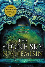 Book cover of The Stone Sky by N.K. Jemisin