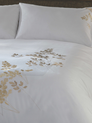 Margaret Muir Bedlinen Embroidered Bedlinen Bedding Embroidered Bedding Margaret Muir
