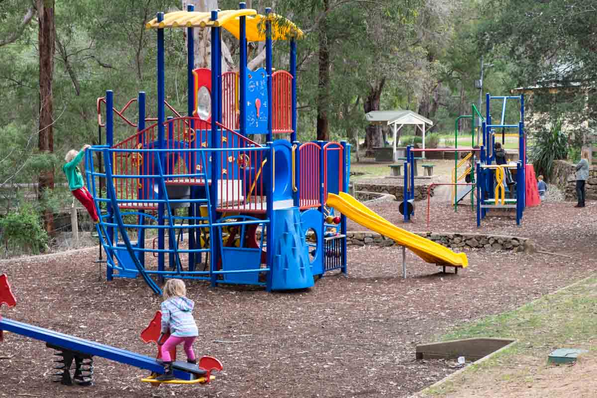 Rotary Park playground. 5 southern towns in the Margaret River Region