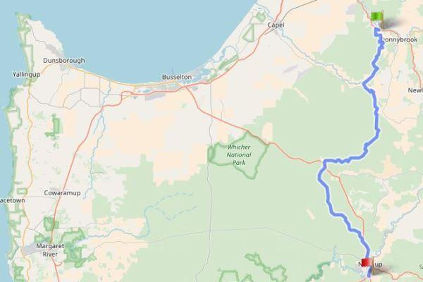 Munda-Biddi-map-D-brook-nannup