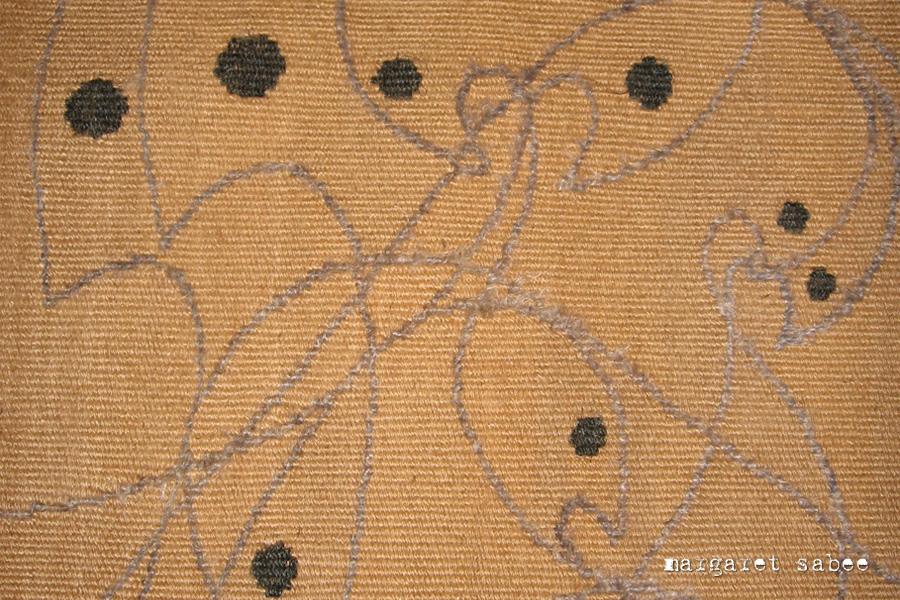 Vogellijnen - Margaret Sabee Weefkunst Den Haag
