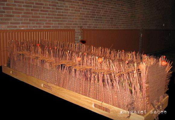 Takkenwade van Margaret Sabee Weefkunst Den Haag