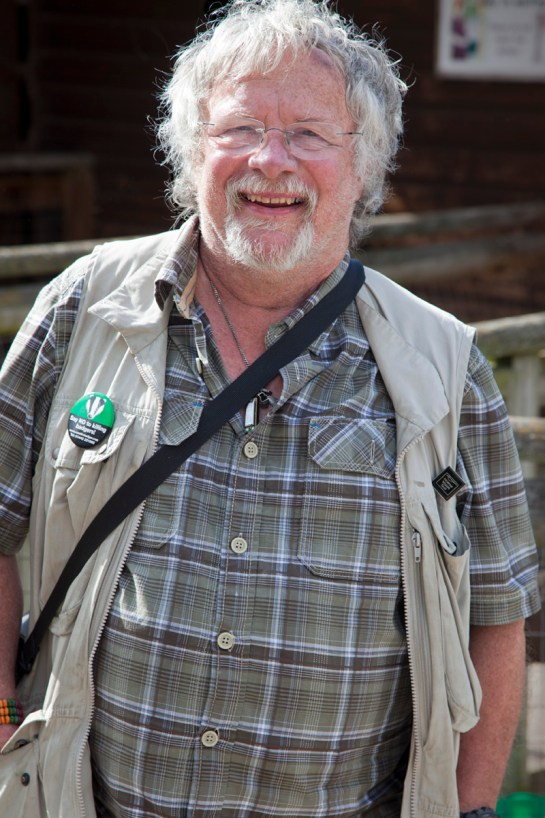 Photo: celebrity portrait tv presenter Bill Oddie OBE, photo by London Photographer Margaret Yescombe