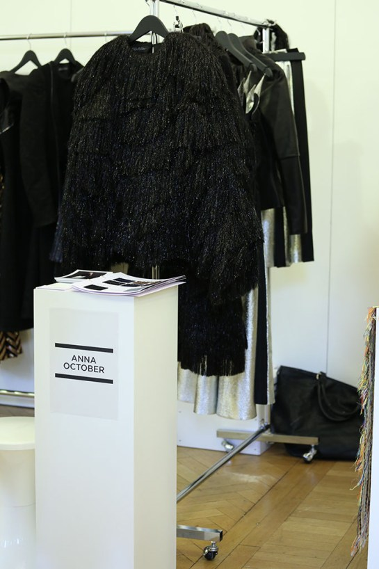 Fashion Scout Exhibition, Designer Anna October, by Margaret Yescombe Photographers London