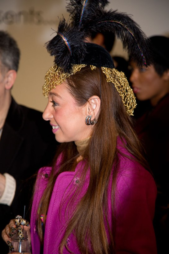 Photo : Millinery Designer attending LFW : Felicities Presentation