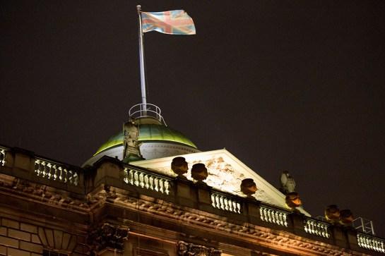 Somerset House - Union Jack Flag