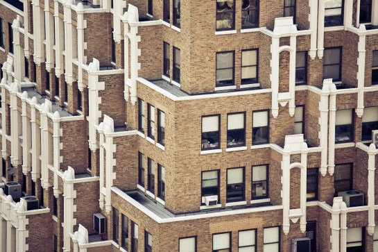 Photo of New York Architecture External Building with balconies. Image by Margaret Yescombe, Photographer London