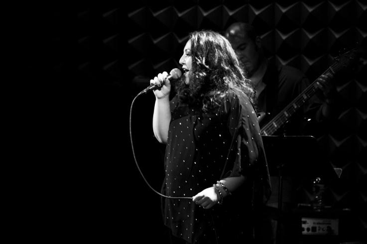 Tori Scott performing at Joe's Pub, Public, NYC
