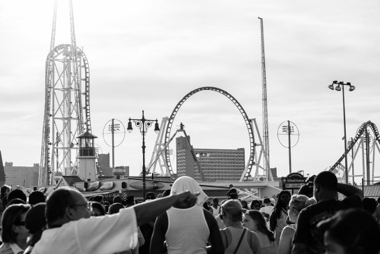Photo: Coney Island Beach, Brooklyn, New York, beach re-opens, memorial day weekend, travel and documentary photography by fashion and pr photographer Margaret ( Maggie ) Yescombe, London UK