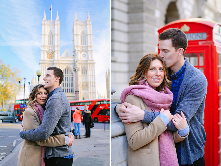 Christiana Kennen Engagement Shoot In London