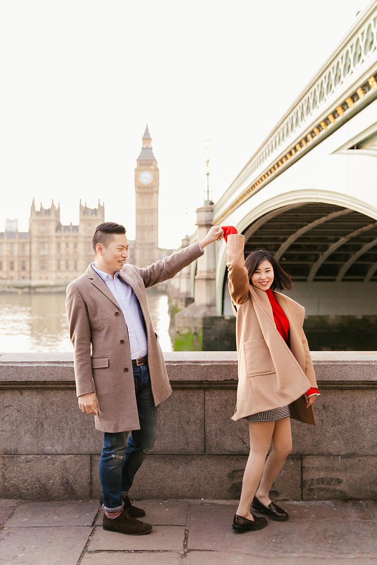 Miki  Dan  Couples shoot in Central London  Margarita Karenko Photography