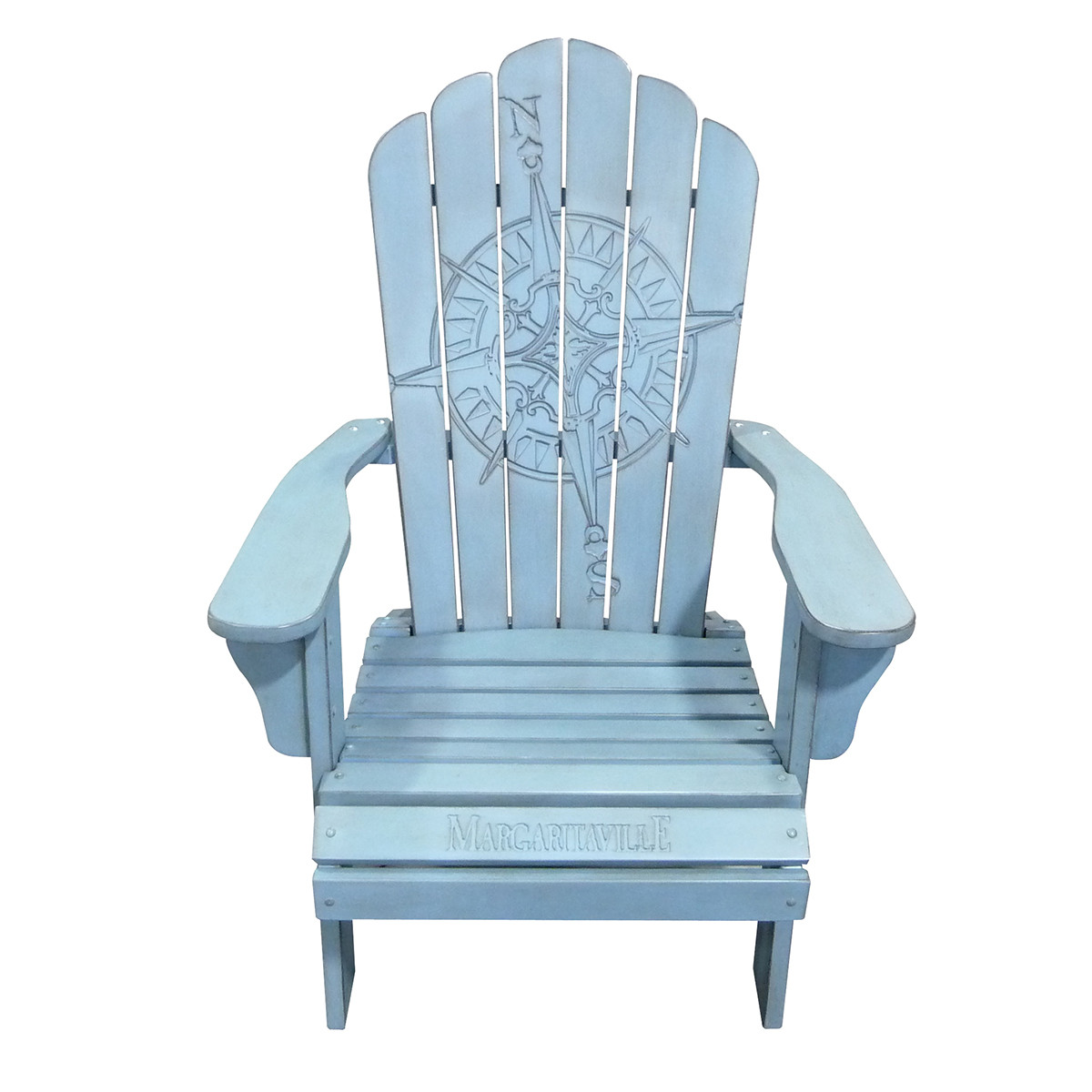 adirondack style plastic chairs uk inflatable chair canada carved compass rose margaritaville apparel store