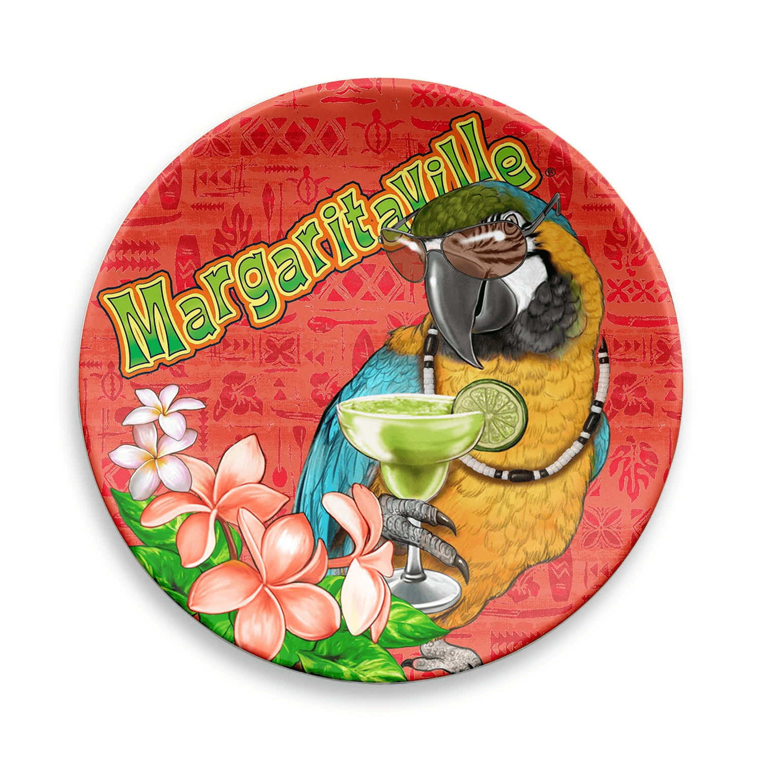 ICON ANIMATED PLATE SET OF 4  Margaritaville Apparel Store