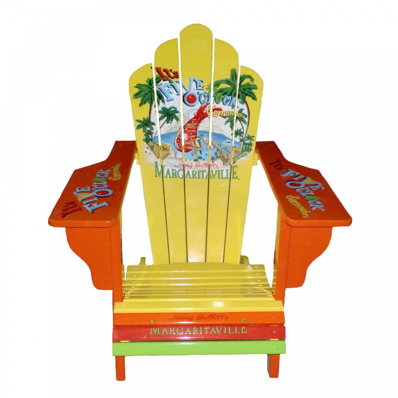painted adirondack chairs swivel chair feet 5:00 - margaritaville apparel store