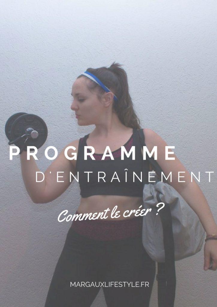 Conseils pour créer son programme d'entraînement sportif