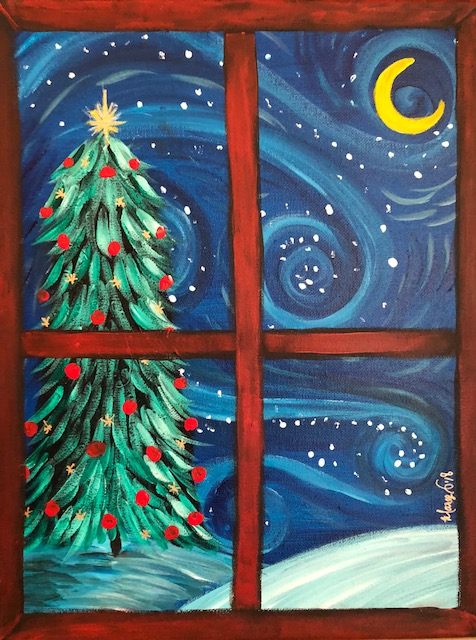 Starry Night Christmas