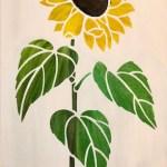 Sunflower Hot Mess Canvas