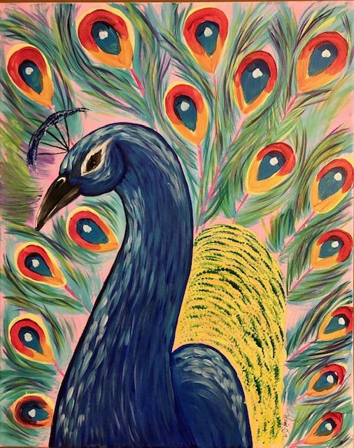 Majestic Peacock - Level 3