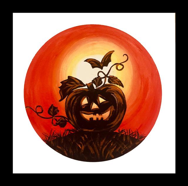 Pumpkin 'n Bat