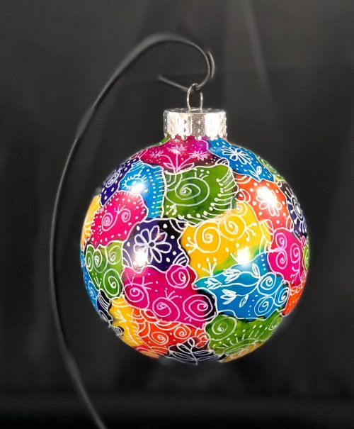 Doodled Ornament
