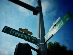 freeedom and highland