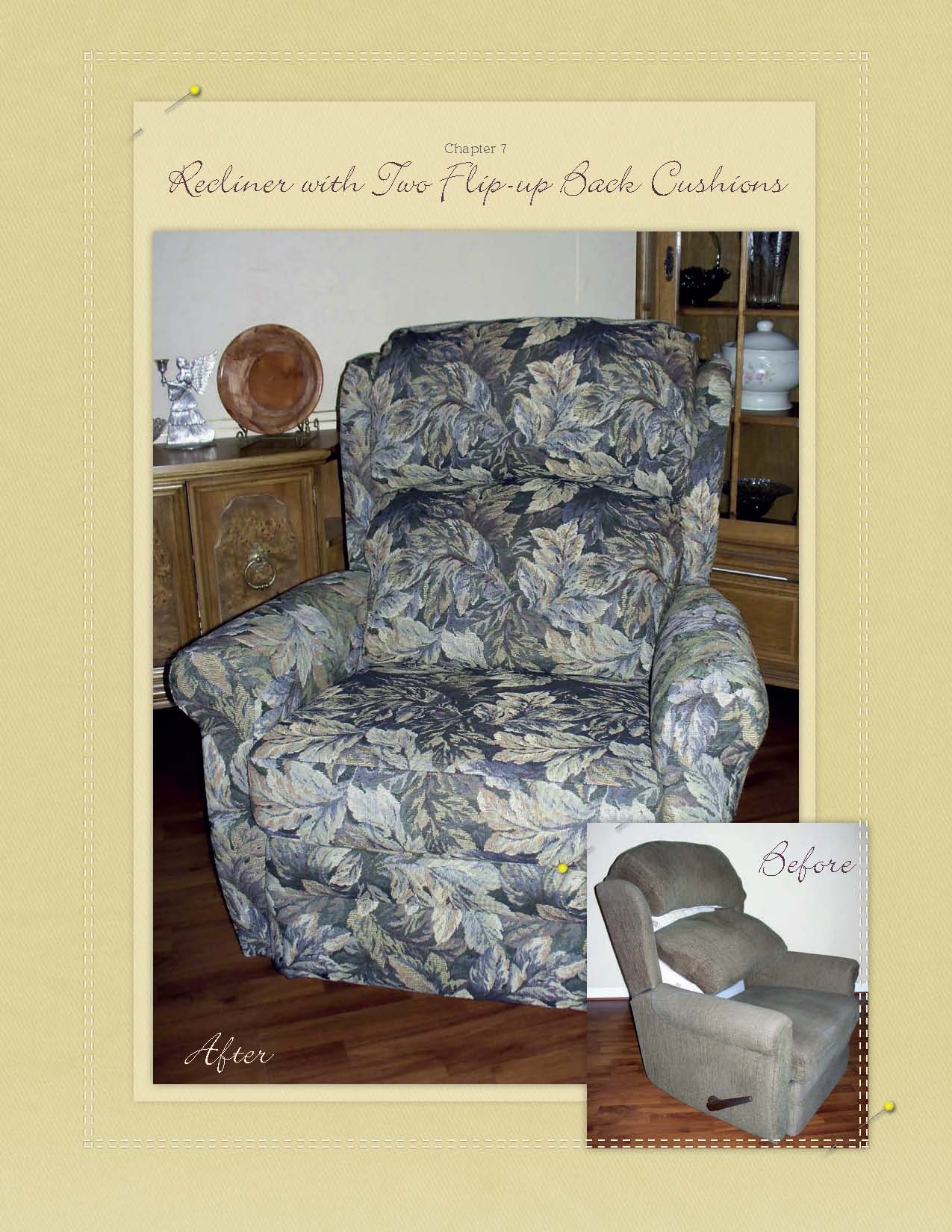 Marges Custom Slipcovers  My second book