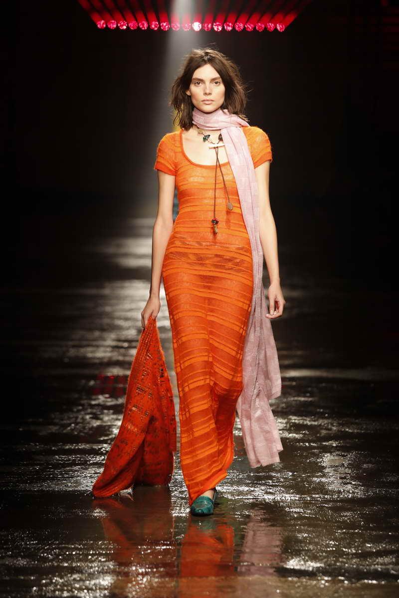 Foto sfilata Missoni Autunno Inverno 2018 2019 La moda donna inverno 2018 2019  Margheritanet donne moda oroscopo e amore