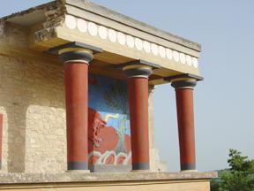 Minoan Bull Fresco