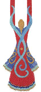 Snake Goddess from Beading Her Image