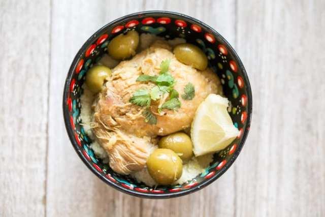 poulet marocain recette