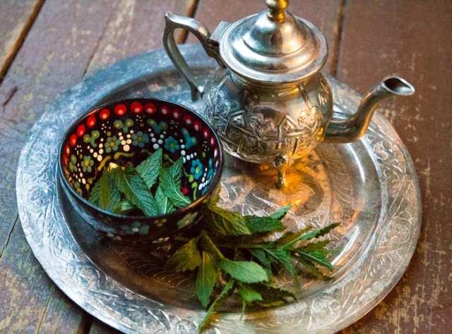 thé à la menthe maison