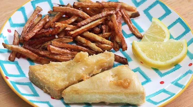 fish and chip tofu