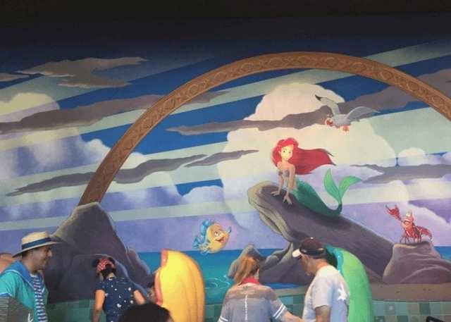 Ariel Disneyland Californie