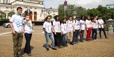 Международен ден за борба с хомофобията и трансфобията. София, 2014 г. Снимка: Светла Енчева. Лиценз: CC-BY-ND