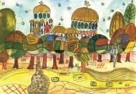 """Автор: Неви, 10 г. Рисунката е предоставена от Ателие """"Прегърни ме""""."""